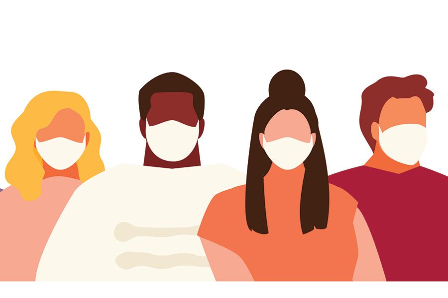 Illustration of Face Masks