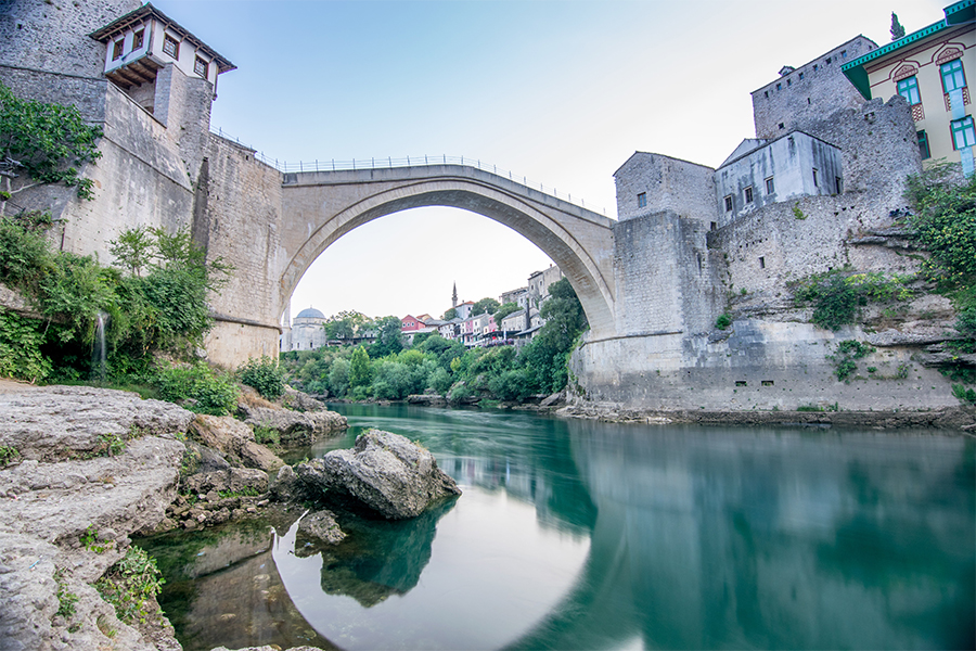 River Canal in the Balkans
