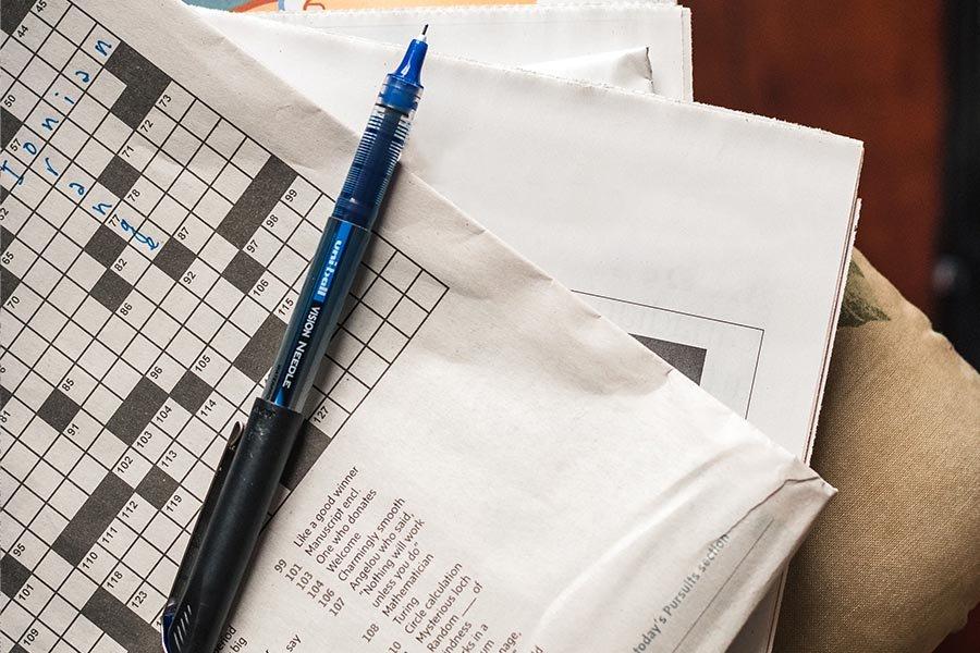 Online Crossword Puzzle