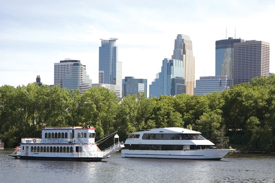 Paradise Charter Cruises Boats in Minneapolis MN