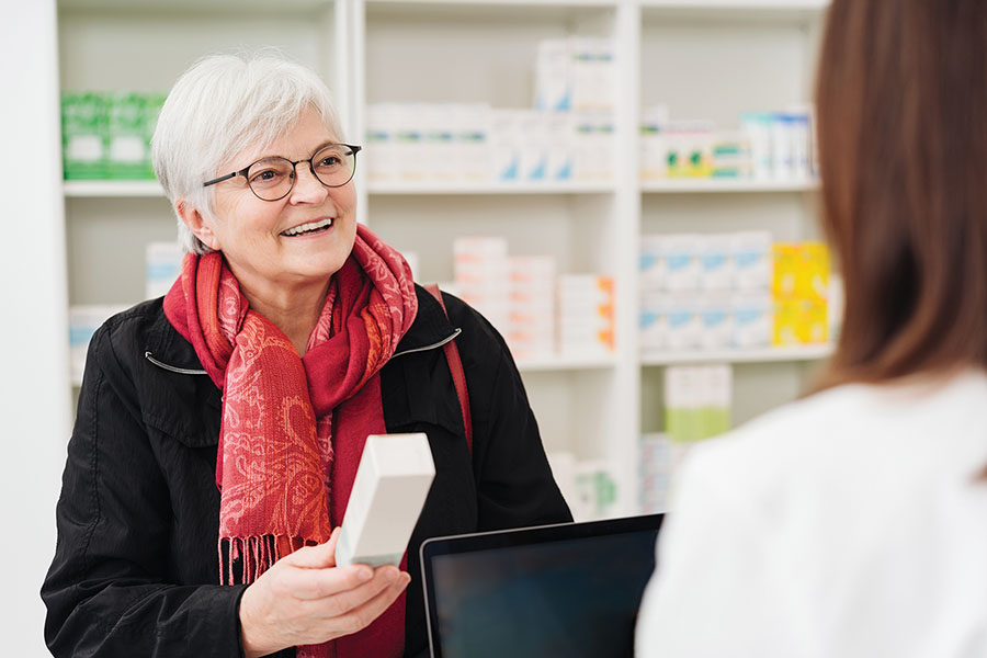 Filling a Prescription with Savings from GoodRx and AAA
