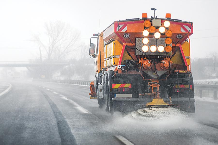 Road Salt in Winter