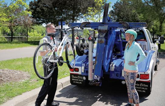 Bicycle Roadside Assistance in Minneapolis Minnesota