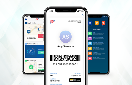 AAA Mobile App Download with Towing and Digital Membership Card