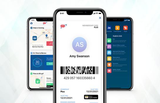 AAA Digital Membership Cards