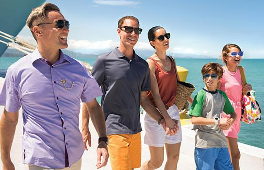 Family on Royal Caribbean Cruise Vacation