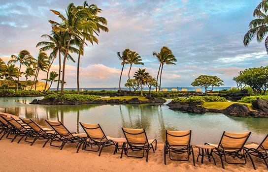 Kauai Marriott resort in Hawaii