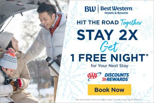 Best Western - Stay two times and earn a free night