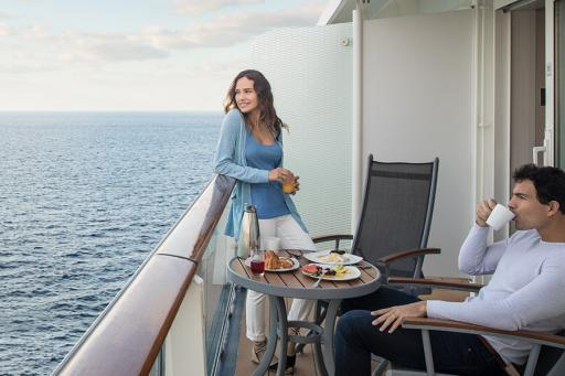 Travelers on a Celebrity Cruise Ship