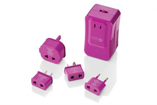 Travel Electric Outlet Converter Adapter Set