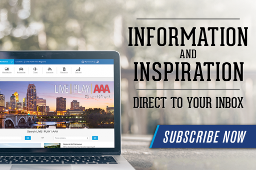 Information and Inspiration in Your Inbox - Subscribe Now