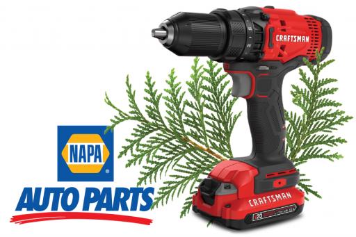 Black Friday offer on Craftsman Tools at NAPA Auto Parts