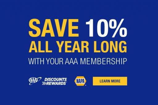 NAPA Auto Parts discount