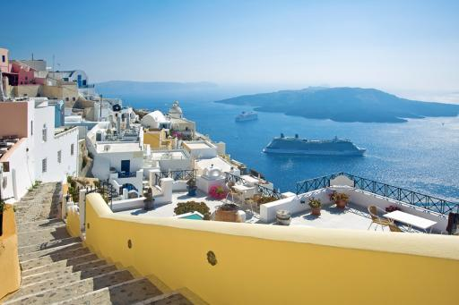 Cruise Ships in Greece