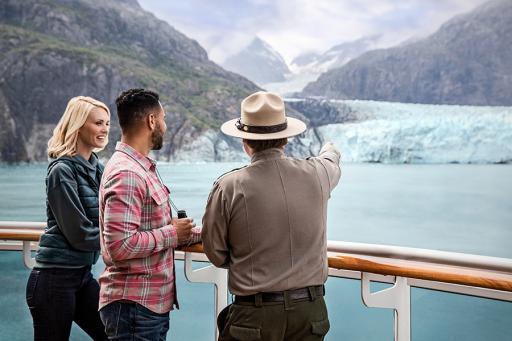 Couple on a Cruise Ship Deck