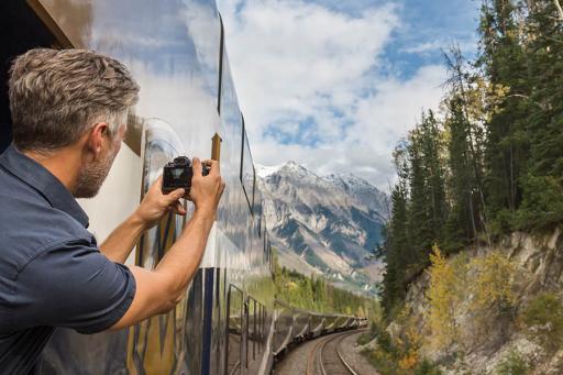 Train Tourist in Canada