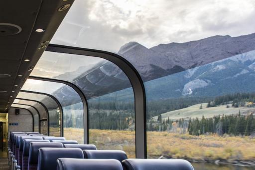 Rail Car in Alaska