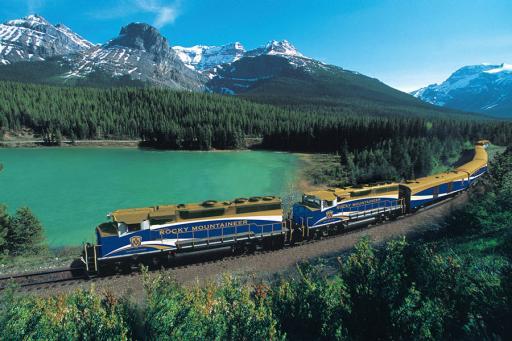 Rocky Mountaineer Rail Travel