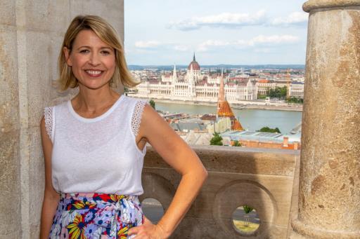 Samantha Brown in Budapest