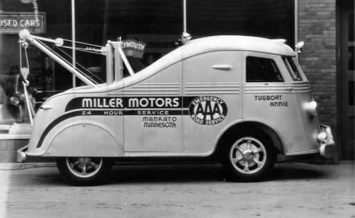 Classic AAA automobile