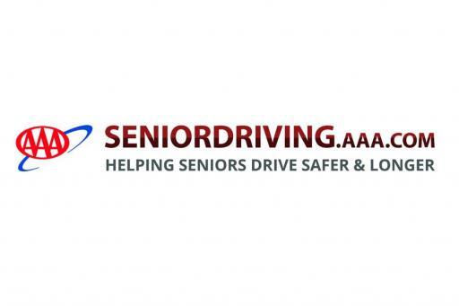 SeniorDriving.AAA.com logo Helping Seniors Drive Safer and Longer