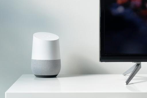 Google Home Voice Assistant Speaker