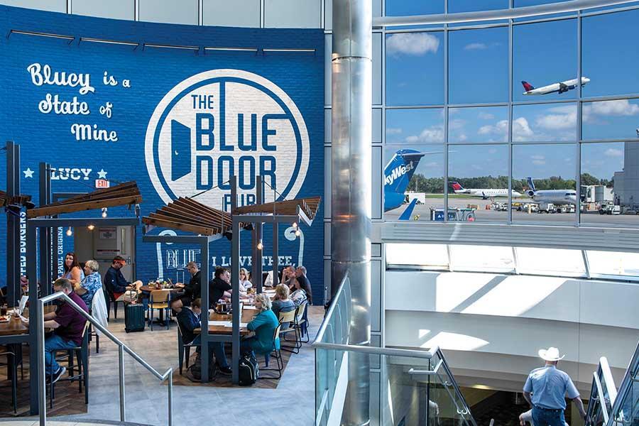 Blue Door Pub at Minneapolis-St Paul International Airport